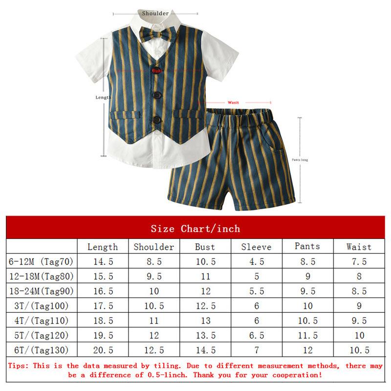 Boy 4-Pieces Vest Set with Dress Shirt, Bow Tie, Vest, and Pants (lattice)