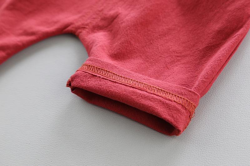 Boy 2 Piecess Set Boy Cotton Clothing Shrots Set