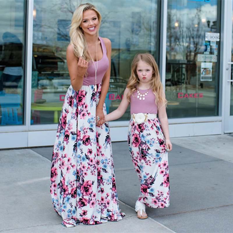 Mother And Daughter Dress