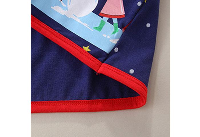 Toddler Girls Dresses Short Sleeve (Christmas tree,star,1169)