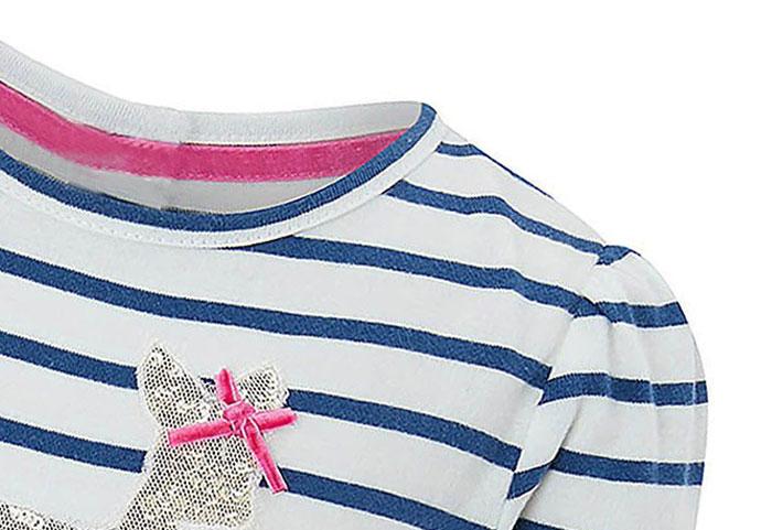 Toddler Girls Dresses Short Sleeve (Deer,1167)