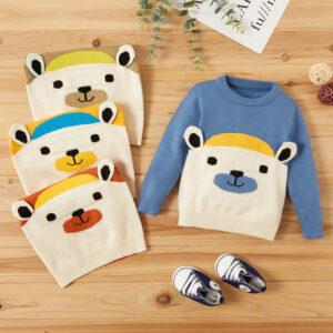 Baby Unisex Bear Sweaters