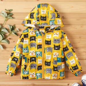 Baby Boy Cat Coat & Jacket