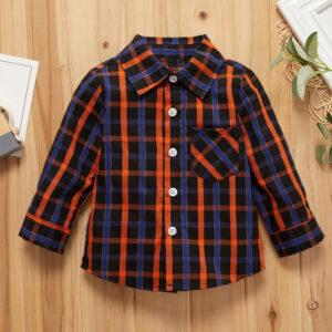 Baby Boy Plaid Shirt