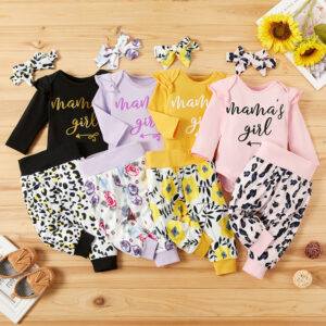 Baby Girl Sweet Floral Sets