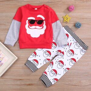 Baby Unisex Santa Claus Sets