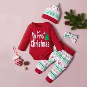 Baby Girl Christmas Sets