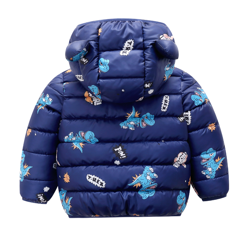 Baby Unisex Dinosaur Coat
