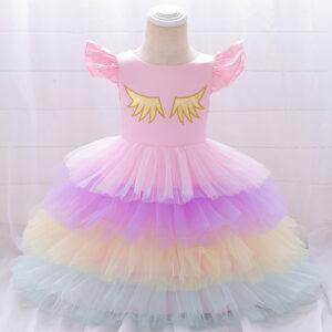 Baby Girl Elegant Unicorn Formal Dresses