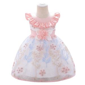 Baby Girl Floral Formal Dresses