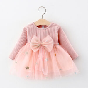Baby Girl Stars Sweet Dress