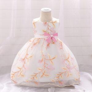 Baby Girl Elegant Floral Formal Dresses