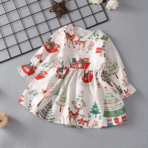 Baby Girl Elk Sweet Dress