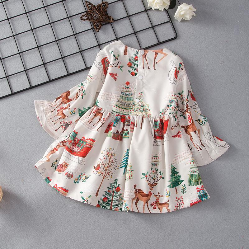 Baby Girl Elk Sweet Dress