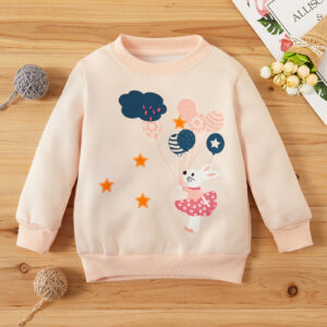 Baby Girl Casual Pullovers