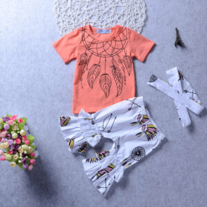 Baby Girl Hand painted Baby's Sets