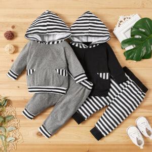 Baby Boy Stripes Baby's Sets