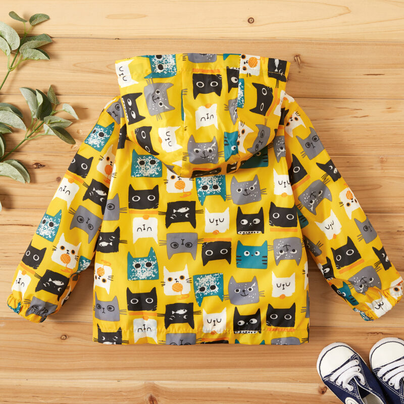 Baby Boy Cat Coat & Jacket