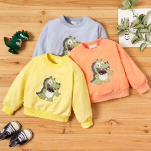 Baby Unisex Dinosaur Pullovers