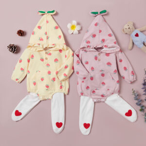 Baby Girl Strawberry Baby's Sets