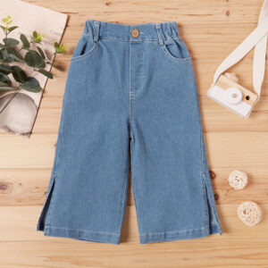 Baby Girl Wide Trousers Jeans