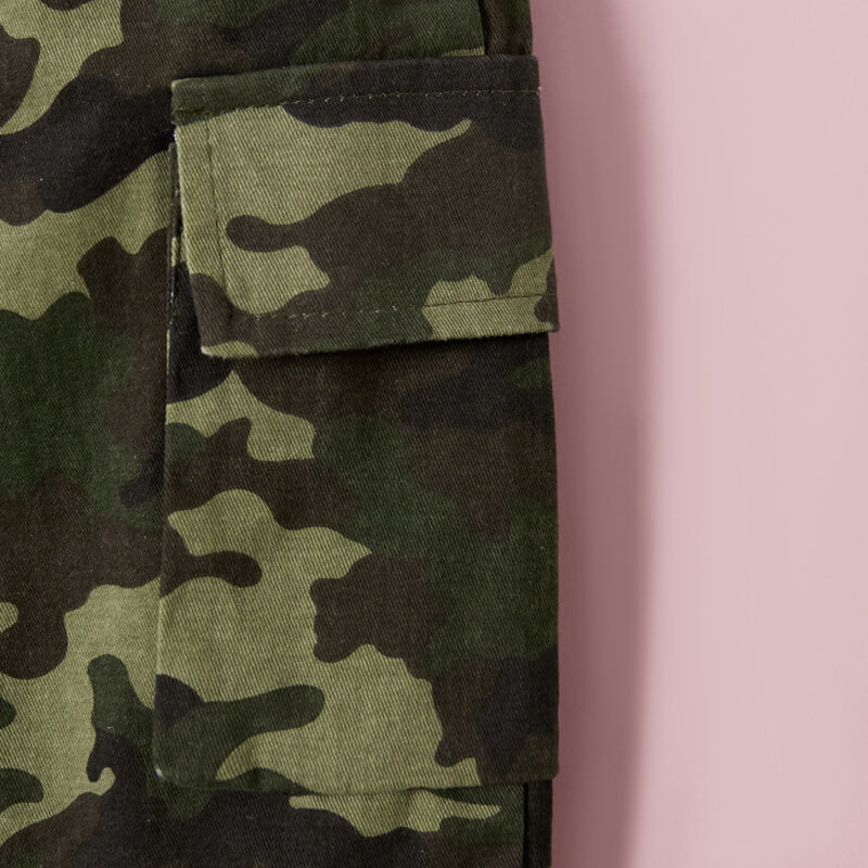 Baby / Toddler Boy Causal Camouflage Sporty Pants