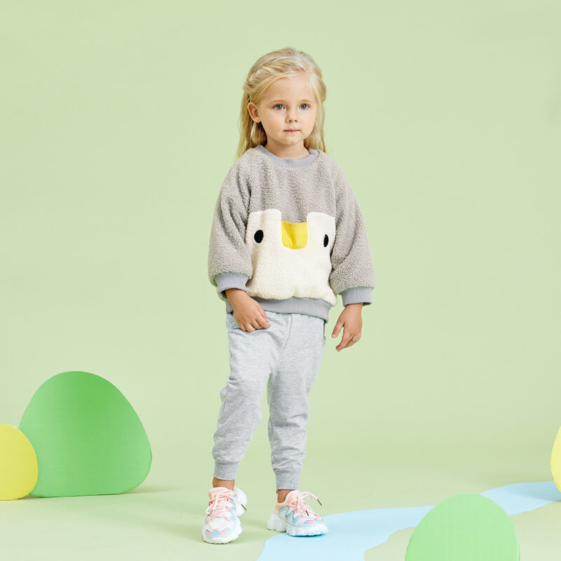 Baby / Toddler Solid Pocket Casual Pants