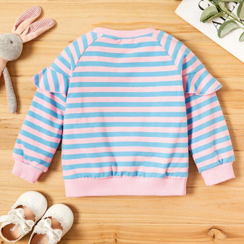 Baby Girl Sweet Rabbit Pullovers