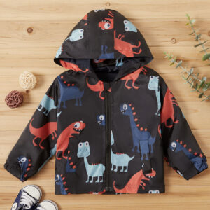 Baby Boy Dinosaur Coat & Jacket