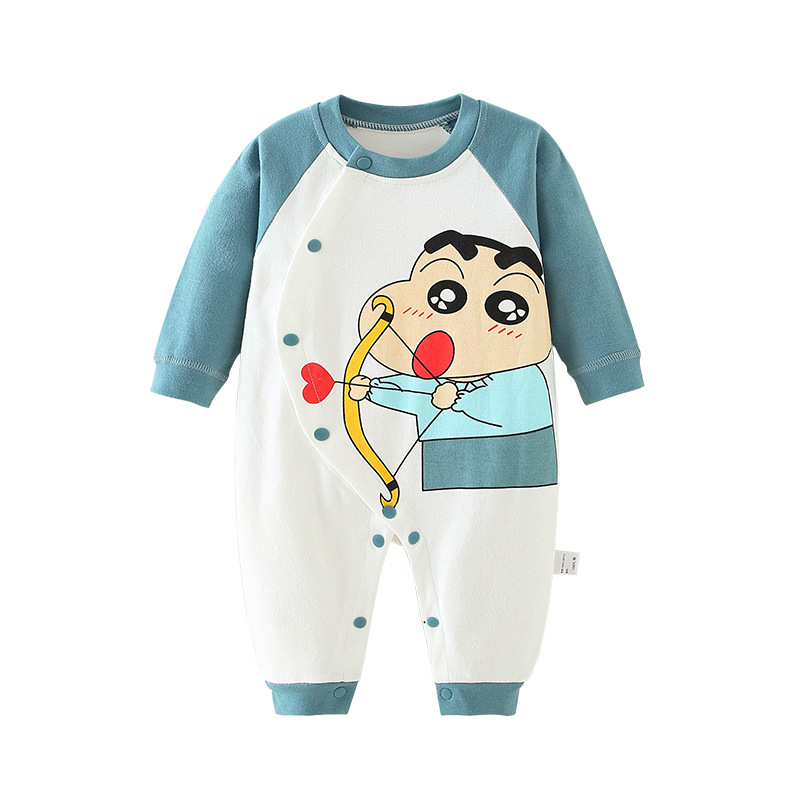 Baby Long Sleeve Jumpsuit Crayon Shin-chan Style