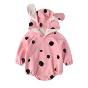 Autumn Baby Long Sleeve Jumpsuit Rabbit Style