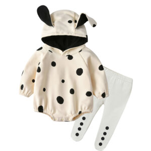 Autumn Baby Long Sleeve Jumpsuit Pant 2 PCS Rabbit Style