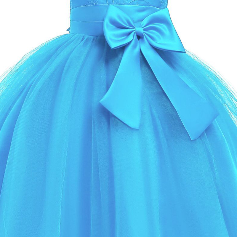 Baby / Toddler Girl Pretty Floral Embroidery Stylish Tulle Party Dress