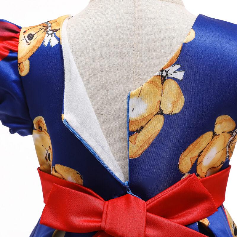 Baby / Toddler Girl Adorable Bear Print Party Dress