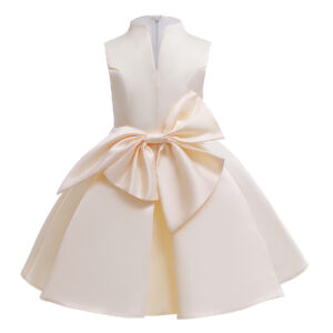 Baby / Toddler Girl Pretty Solid Party Dress