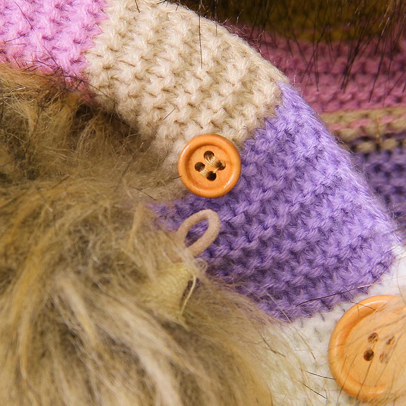 Baby Soft Loose Striped Fur Collar Sweater