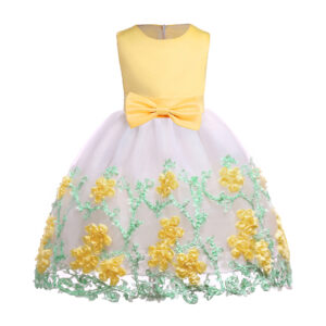 Baby / Toddler Girl Pretty Floral Decor Party Dress