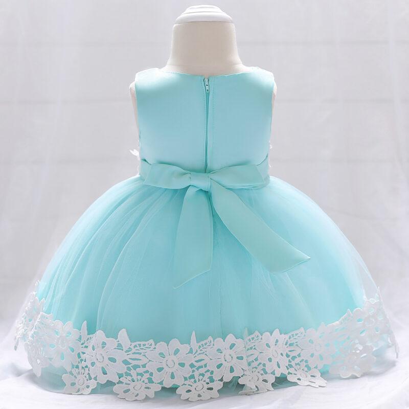 Allover Sleeveless Party Dress