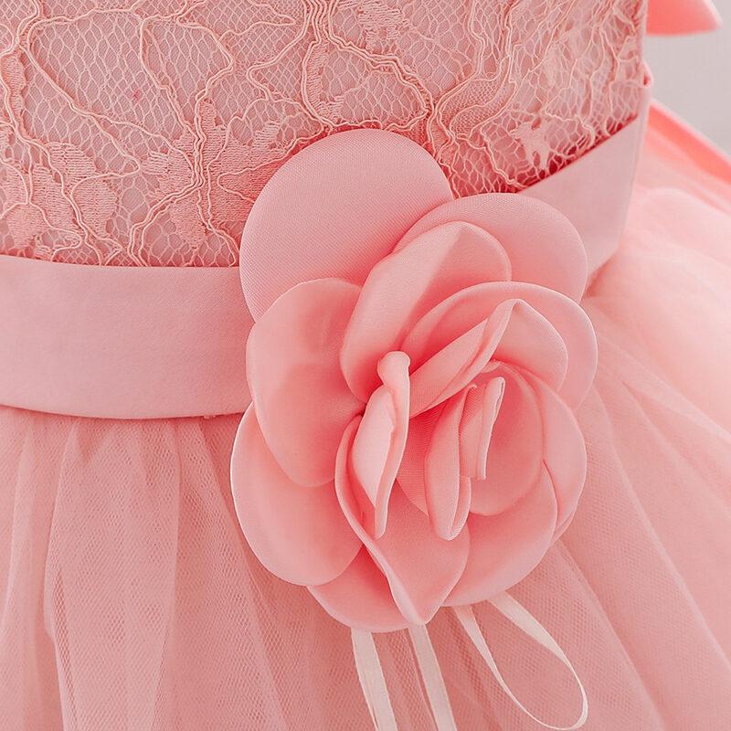 Allover Sleeveless Mesh Party Dress