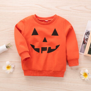 Baby / Toddler Halloween Devil Pattern Party Pullover