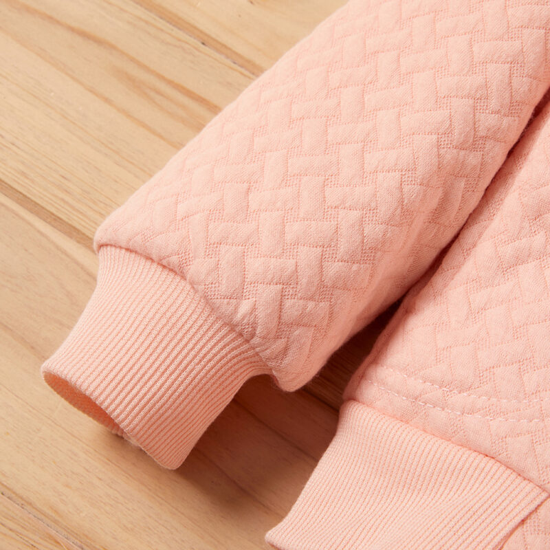 Baby / Toddler Boy Solid Berber Fleece Long-sleeve Coat