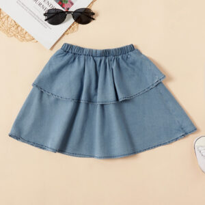 Toddler Girl Solid Skirt