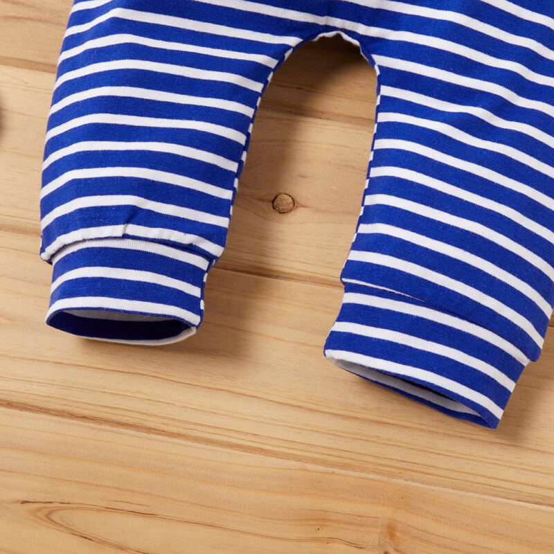 Baby Boy / Girl Casual Striped Onesies