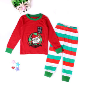 Christmas 2Pcs Outfit Set Baby Girls Boys Pajamas