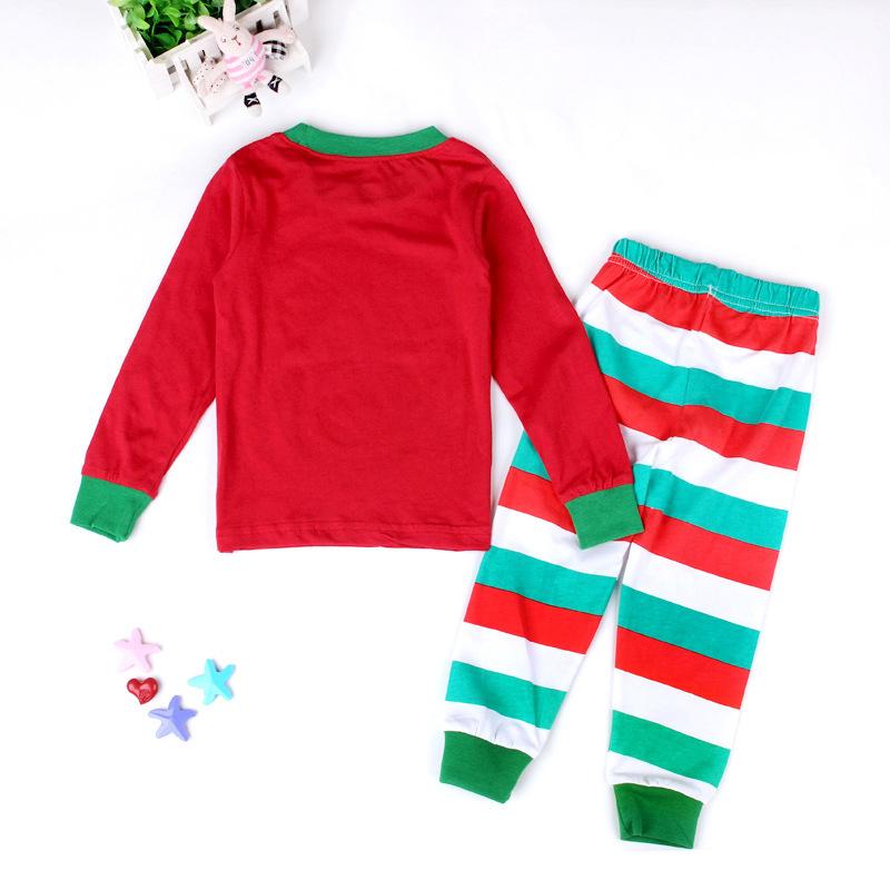 Christmas 2Pcs Outfit Set Baby Girls Boys Pajamas