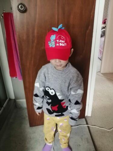 Baby / Toddler Boy Adorable Dino Decor Warm Knitwear photo review