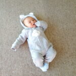 Baby Adorable Cloud Hooded Jumpsuits photo review