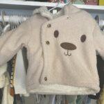 Baby / Toddler Cartoon Bear Fluff Long-sleeve Hooded Coat photo review