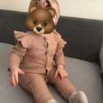 Baby Solid Flounced Jumpsuit with Headband Set photo review