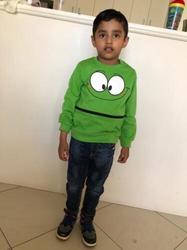 Baby / Toddler Cutie Cartoon Animal Decor Long-sleeve Sweatshirt photo review